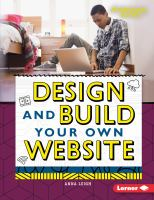 Design and Build your Own Web Site