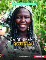 Environmental Activist Wangari Maathai