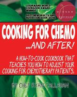 Cooking for Chemo ... and After!