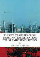 Thirty Years Iran Oil