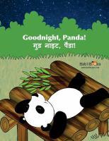 Goodnight, Panda! = Guḍ nāiṭ, Paanda!(Goodnight, Panda! = गुड नाइट, पैंडा!)