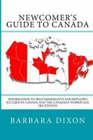 Newcomer's Guide to Canada
