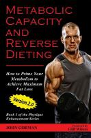 Metabolic Capacity and Reverse Dieting