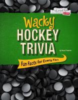 Wacky Hockey Trivia