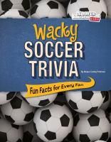 Wacky Soccer Trivia