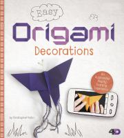 Easy Origami Decorations