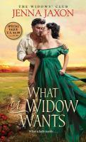 What A Widow Wants