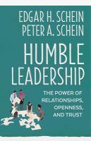 Humble Leadership