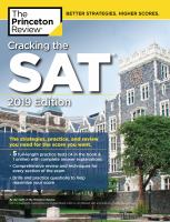 Cracking the SAT