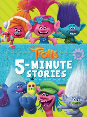 Cover image for Trolls 5-minute Stories
