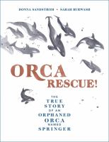 Orca Rescue!: The True Story Of An Orphaned Orca Named Springer