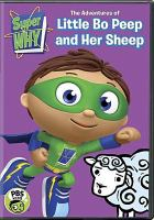 Super Why! The Adventures of Little Bo Peep and Her Sheep DVD