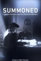 Summoned: Frances Perkins and the General Welfare (DVD)