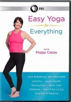 Easy Yoga for Everything With Peggy Cappy (DVD)