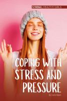 Coping With Stress and Pressure