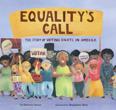 Equality's call : the story of voting rights in America(book-cover)