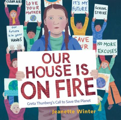 Our House is On Fire: Greta Thunberg's Call to Save the Planet(book-cover)