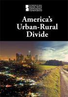 America's Urban-rural Divide