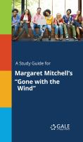 """A Study Guide for Margaret Mitchell's """"gone With the Wind"""""""