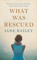 WHAT WAS RESCUED [audiobook Cd]