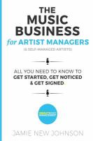 The Music Business for Artist Managers (& Self-managed Artists)