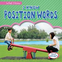 I Know Position Words