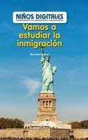 Vamos a estudiar la inmigración