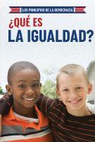 ¿qué es la igualdad? (what is equality?)