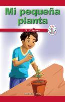 Mi pequeña planta: si... entonces (my little plant: if...then)