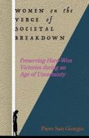 Women on the Verge of Societal Breakdown
