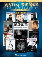 Justin Bieber Sheet Music Collection