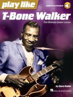 Play Like T-bone Walker