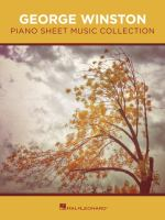 George Winston piano sheet music collection