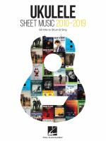Ukulele Sheet Music 2010-2019