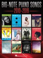 Big-note Piano Songs 2010-2019