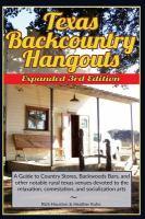 Texas Backcountry Hangouts