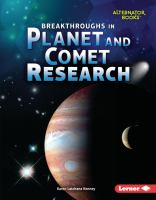 Breakthroughs in Planet and Comet Research
