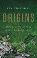 Origins : how Earth's history shaped human history