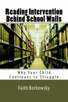 Reading Intervention Behind School Walls