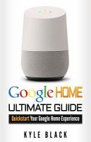 Google Home book cover