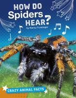 How Do Spiders Hear?