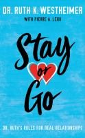 Stay Or Go (CD)