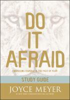 Do It Afraid Study Guide