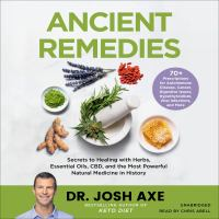 Ancient Remedies (CD)