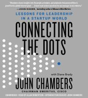 Connecting the dots lessons for leadership in a startup world