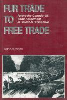 Fur Trade to Free Trade