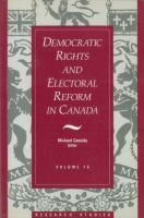 Democratic Rights And Electoral Reform In Canada
