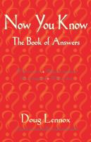 Now You Know: The Book of Answers
