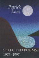 Selected Poems, 1977-1997