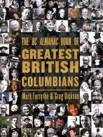 The BC Almanac Book of Greatest British Columbians